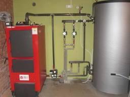 Установка монтаж котла: твердотопливного, газового, электрического