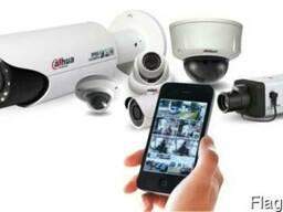 Установка (монтаж) видеонаблюдения, домофонов, электрозамков