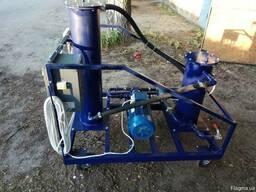 Установка очистки масла 100 литров в минуту