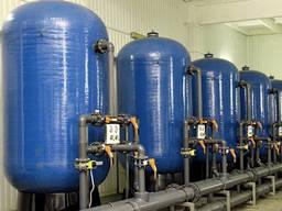 Установка очистки морской воды и сточных вод от механических примесей и нефтепродуктов