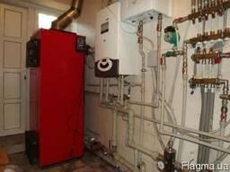 Установка радиаторов, теплого пола, твердотопливных котлов