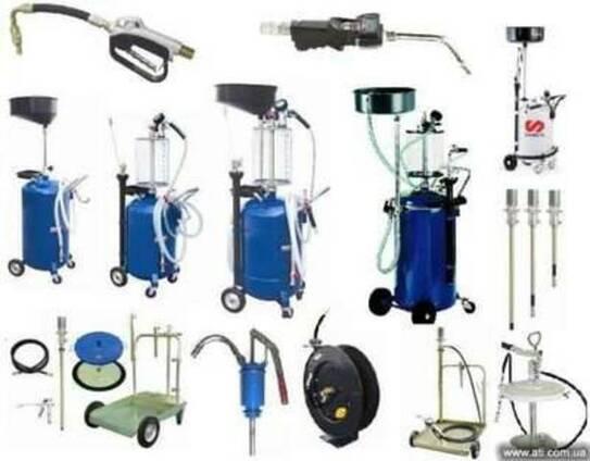 Установки для замены масла, маслозаменное оборудование