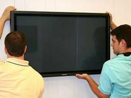 Установка телевизоров, плазменных и LЕD панелей, одесса
