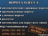 Ворота Одесса Гаражні Ворота Відкатні ворота Розпашні ворота установка ціна - фото 1