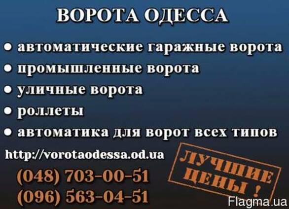 Ворота Одесса Гаражні Ворота Відкатні ворота Розпашні ворота установка ціна