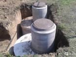 Установка выгребных, сливные ямы копка канализации, септика - фото 4