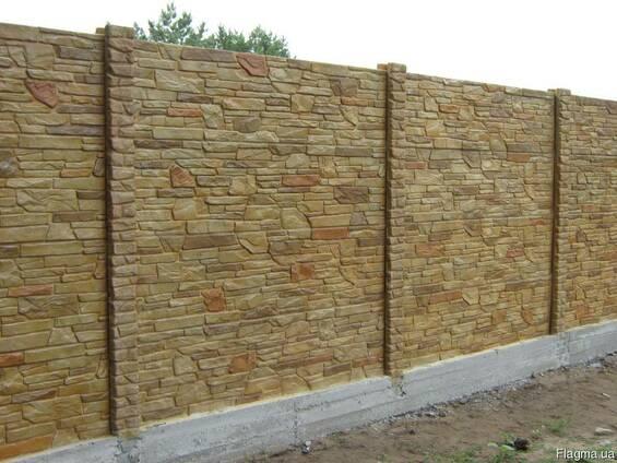 Заборы из бетона купить силикон в бетон