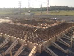 Фундаменты и монолитные работы под ключ, бетонные работы