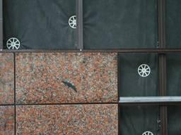 Устройство (монтаж) вентилируемого фасада из керамогранита