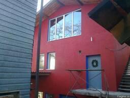 Утепление фасада дома пенопластом, декоративная штукатурка