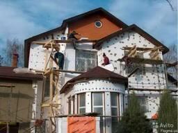 Утепление фасада домов пенопластом Днепропетровск