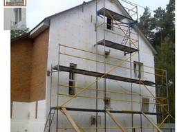 Утепление фасада пенопластом, минеральной ваты