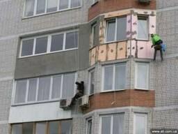 Утепление фасадов, квартир