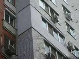 Утепление фасадов, квартир, домов в Днепре
