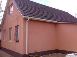 Фасадные работы утепление стен покраска побелка шпаклевка фасада Днепр