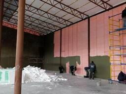 Утепление фасадов, внутренняя и внешняя тепло-гидроизоляция