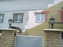 Утепление и облицовка фасада, Сайдинг каменный Донрок