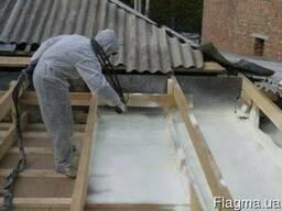 Утепление крыши дома пенополиуретаном