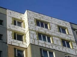 Утепление квартир,зданий,сооружений,фасадные работы