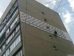 Утепление стен пенопластом фасадов зданий - фото 2
