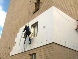 Утепление фасада зданий. Герметизация швов. Высотные работы.