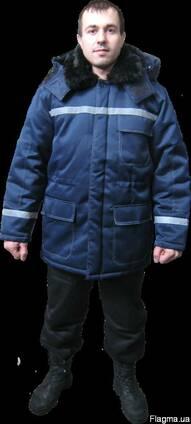 Курточка зимняя, утепленая со светоотражайками,