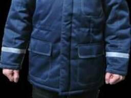 Куртка мужская рабочая утепленная с СВП полосами