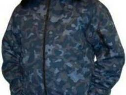 """Утепленная мужская куртка охранника камуфлированная """"город"""""""