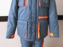 Утепленный рабочий костюм для охраны