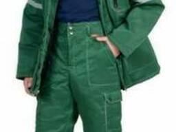 Утепленный рабочий костюм Лидер