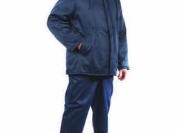 Утепленный рабочий костюм Оптима: куртка, брюки, мужской