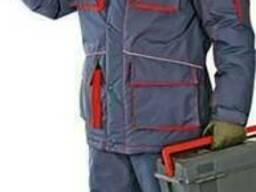 Утепленный рабочий мужской костюм СПЕЦ