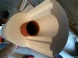 Утеплитель для труб диаметром 108мм толщиной 100мм пл 35
