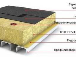 Утеплитель ТехноРуф 45 (140кг/м3) 1200х600х100мм (1, 44м2)