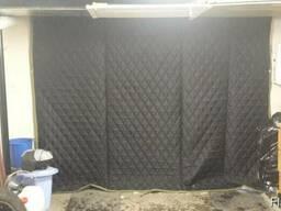 Утепляем ворота - шторы многослойные