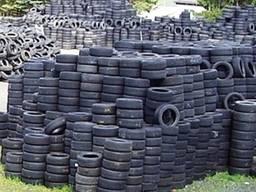 Утилизация негодных колес, автопокрышки, шины