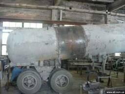 Увеличение объёма бочки цементовоза