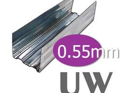 UW-профиль 3м. (100 / 40 / 0,55)
