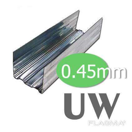 UW-профиль 3м. ОТК (100 / 40 / 0,55)