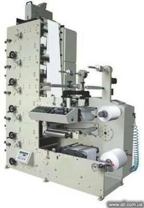 Узкорулонные флексографические печатные машины ZBS