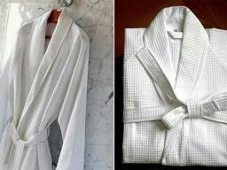 Вафельный халат для гостиниц и спа
