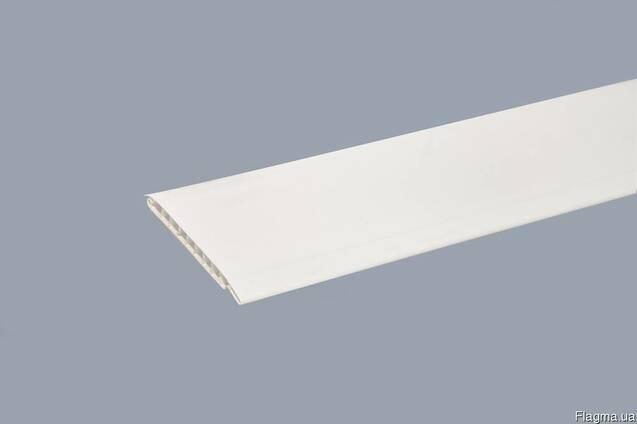 Вагонка біла 6000мм х100мм х10мм (ПВХ)