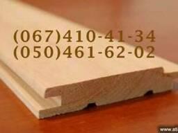 Вагонка деревянная высший сорт липа, ольха