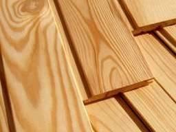 Вагонка дерев'яна від виробника