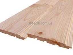 Вагонка дерев'яна 130х15х4000 мм Сосна