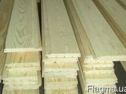 Вагонка деревянная с замками