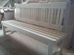 Деревянные скамейки, будки и др. изделия