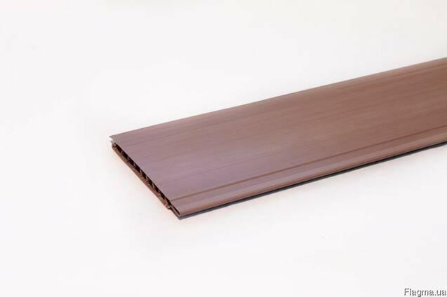 Вагонка горіх, сіра, дуб, коричнева 6000мм х100мм х10мм(ПВХ)