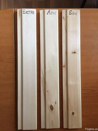 Вагонка из липы; Доска пола/паркет из дуба; Мебельные щиты