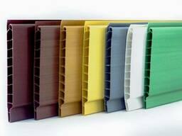 Вагонка пластикова кольорова 10 см